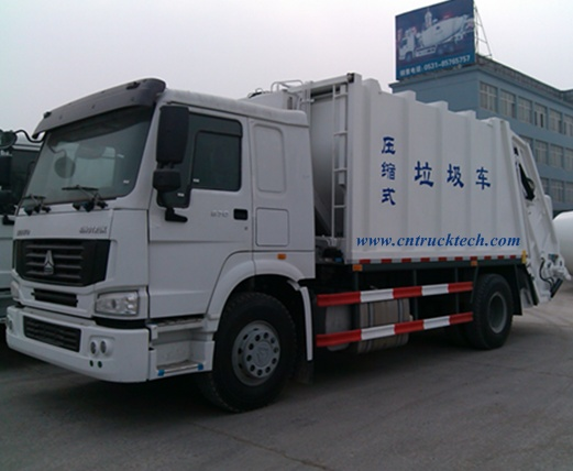 HOWO Compressed Garbage Truck