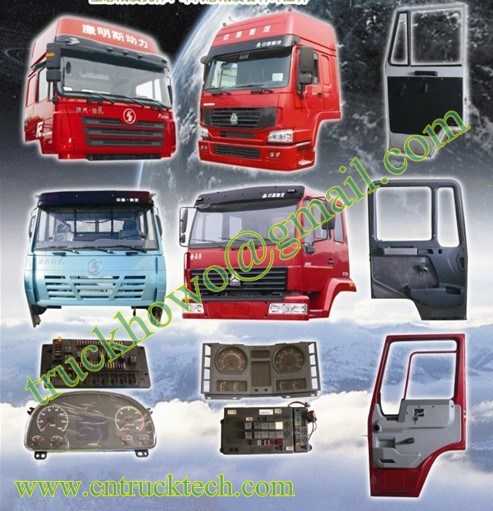 SINOTRUK HOWO cabin & spare parts